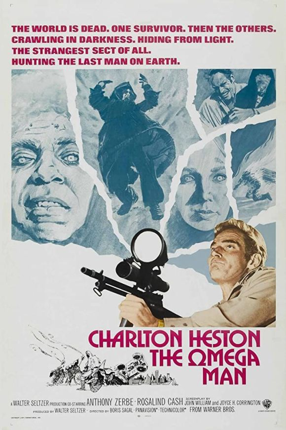 The Omega Man (1971) Movie Poster