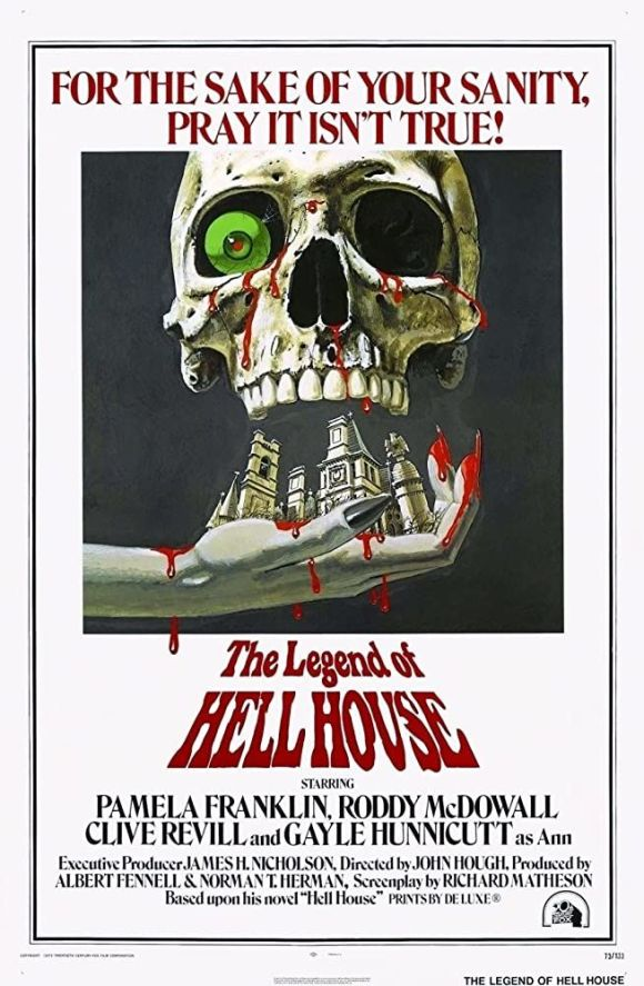 The Legend of Hell House (1973) Movie Poster
