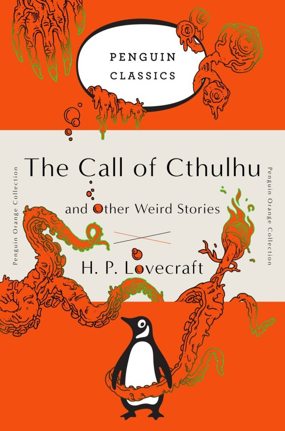 The Call of Cthulhu and Other Weird Stories book cover (1927)
