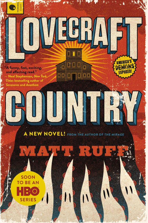 Lovecraft Country book cover(2016)