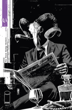 The Black Monday Murders Horror Comic Cover