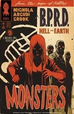 BPRD Supernatural Horror Comic Cover