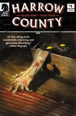 Harrow County Supernatural Horror Comic Cover