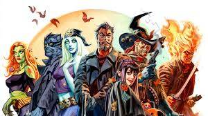 Nocturnals Supernatural horror comic cover