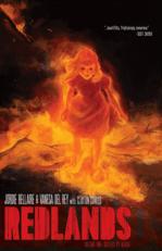 Redlands Supernatural Horror Comic Cover