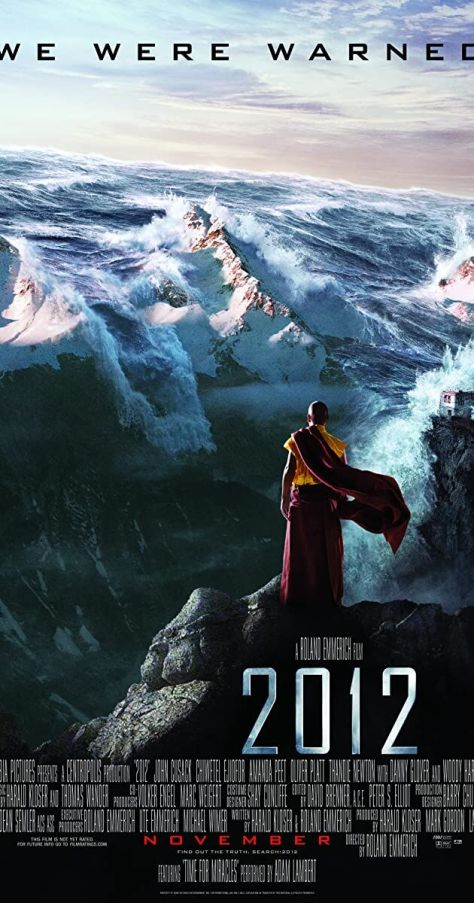 2012 end of the world movie poster