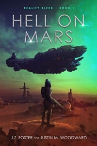 Hell on Mars Sci-fi horror book