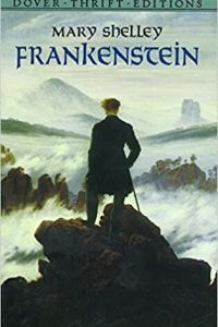 Frankenstein Sci-fi horror book