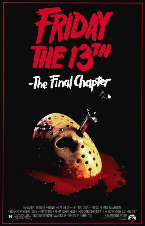 Friday the 13th Final Chapter Movie poster
