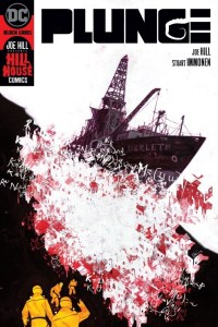 Plunge sci-fi horror comic cover