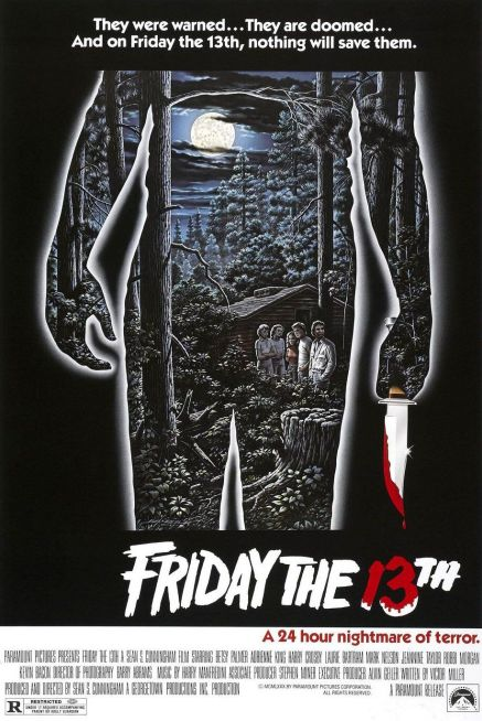 Friday the 13th original movie poster