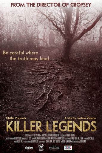Killer Legends scary documentary poster