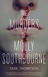 The Murders of Molly Southbourne by Tade Thompson sci-fi horror book cover