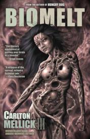 Biomelt sci-fi horror comic book cover