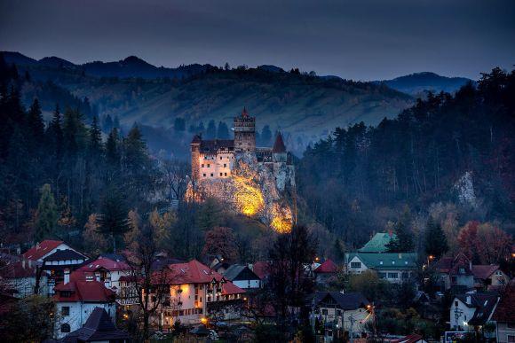 Bran castle Vlad Dracula's castle in Transilvania