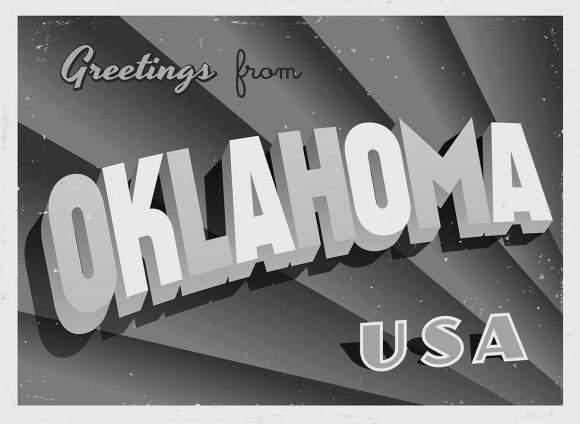 Oklahoma greeting card
