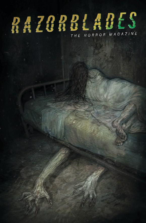 Razorblades: The Horror Magazine #3 horror art