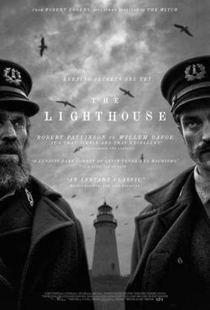 The Lighthouse psychological horror film poster 2019