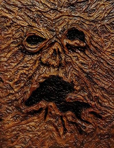 Necronomicon Book Cover made of flesh from Evil Dead Movies