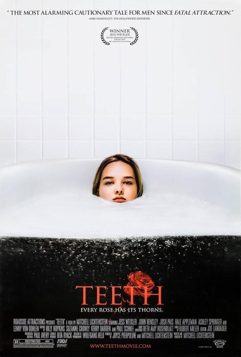 Teeth Body Horror Movie Poster