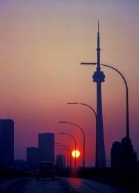 sunrise lamp post | Puzzle Fry