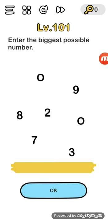 Kunci Jawaban Brain Out Level 98 : kunci, jawaban, brain, level, Brain, Level, Solution, (Enter, Biggest, Possible, Number), Puzzle, Master