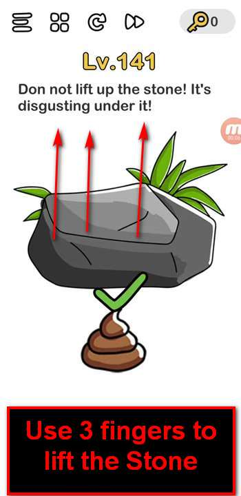 Jawaban Brain Out Level 141 : jawaban, brain, level, Brain, Level, Solution, Stone), Puzzle, Master