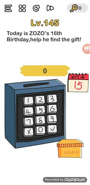 Jawaban Brain Out Level 141 : jawaban, brain, level, Brain, Level, (today, Zozo's, Birthday), Solution,, Puzzle, Master