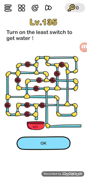 Brain Out Level 121 Indonesia : brain, level, indonesia, Brain, Level, Solution,, (turn, Least, Switch, Water), Puzzle, Master