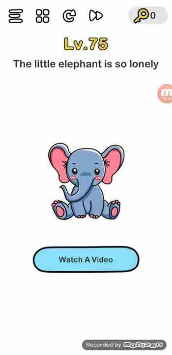 Jawaban Brain Out Level 18 : jawaban, brain, level, Brain, Level, Solution, (Little, Elephant, Lonely), Puzzle, Master