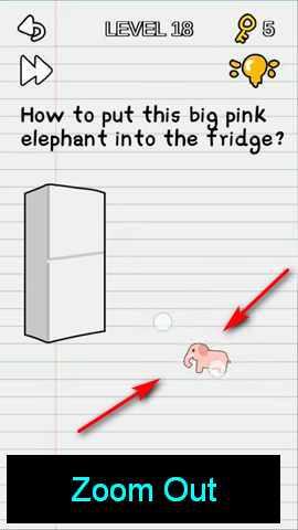 Kunci Jawaban Stump Me : kunci, jawaban, stump, Stump, Level, Elephant, Fridge?), Solution, Puzzle, Master