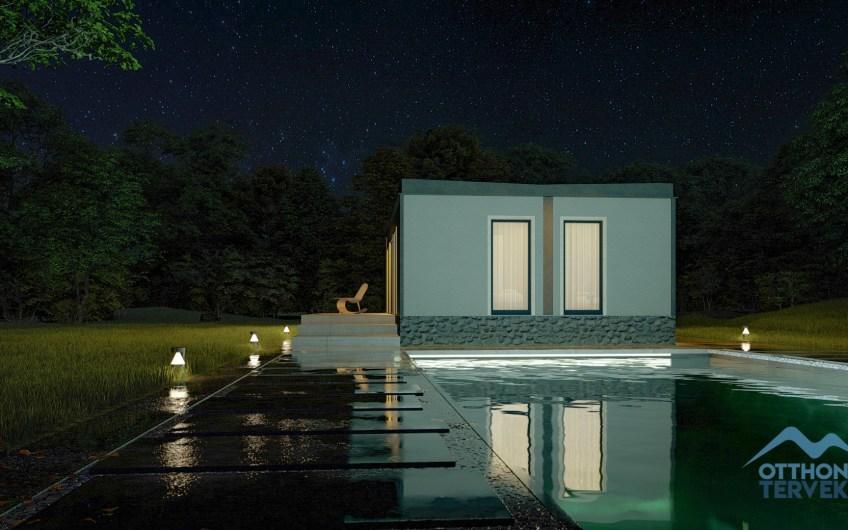 Gárdony 55 m²-es modul mobilház