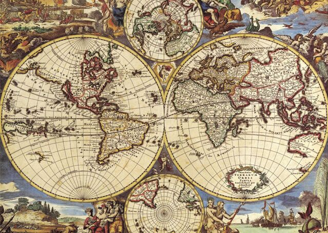 ancient world map wooden jigsaw puzzle 1000 pieces puzzle mind fitness