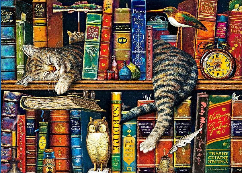 Fall Wallpaper 4d Wysocki Whiskers Frederick The Literate 1000 Piece Puzzle