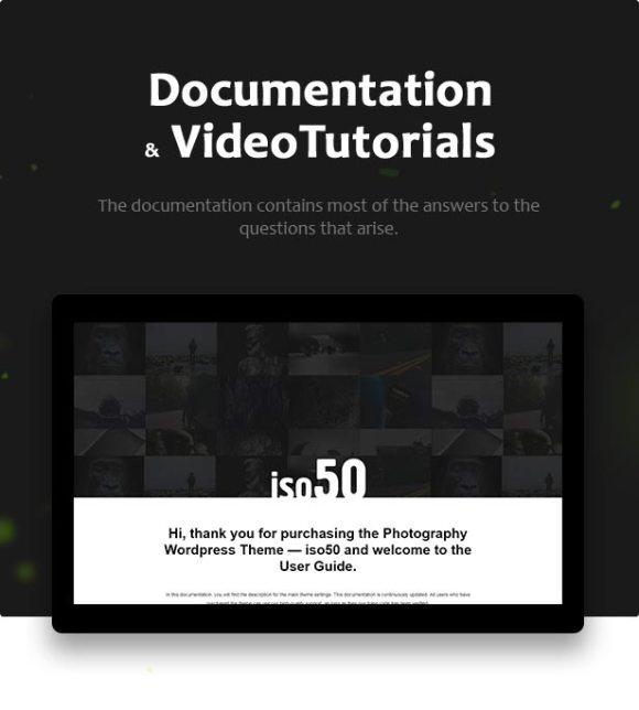 Iso50 - Photography WordPress Theme - 8