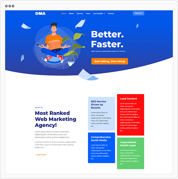 DMA - Digital Marketing Agency Template Kit - 1