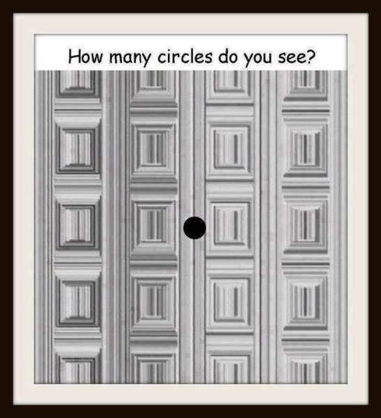 how many circles do you see in this picture