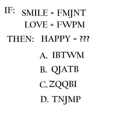 picture puzzle: decode-happy