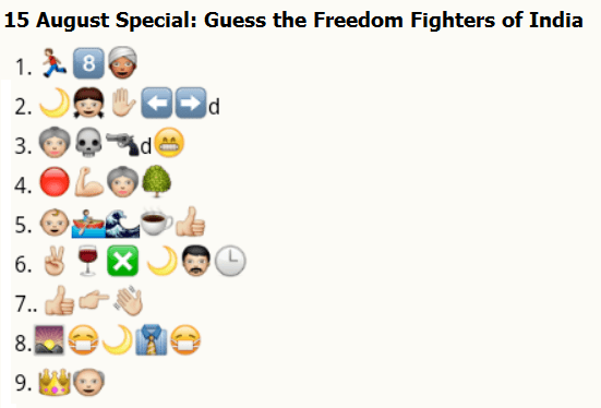 guess desh bhakt (freedom fighters) of india