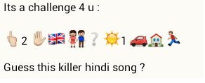 Guess this killer hindi song - whatsapp