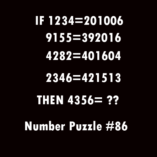 Number-Puzzle-#86