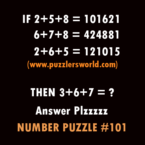 Number-Puzzle-101,-If-2+5+8-=101621