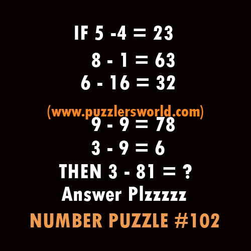 Number-puzzle-102,--5--4-=-23