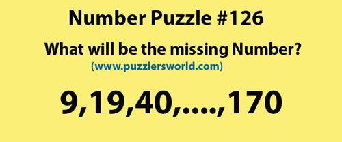 find-missing-number-9,19,40,....,170