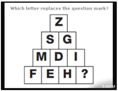 Z S G M D I F E H ?