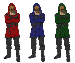Three Knights or Knaves
