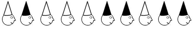 Ten Hats Puzzle