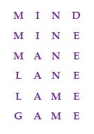 Mind Game Word Ladder