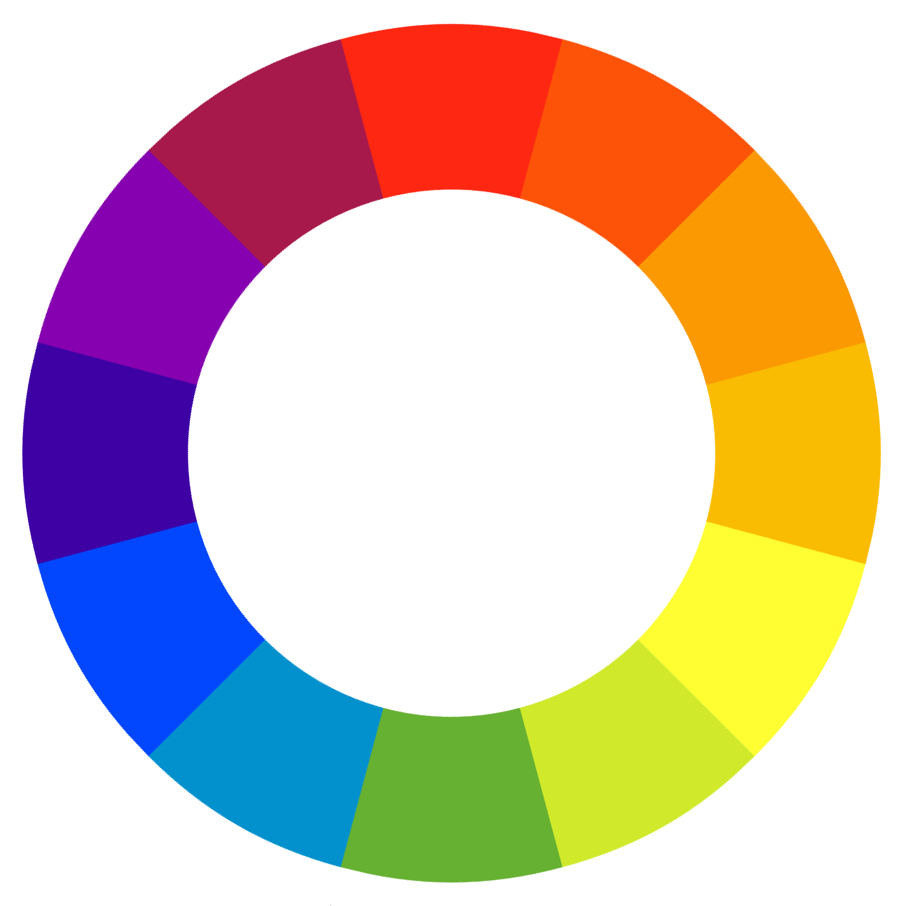 The Traditional Color Wheel