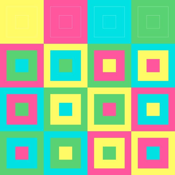 Hyper Graeco Latin Square Order 4